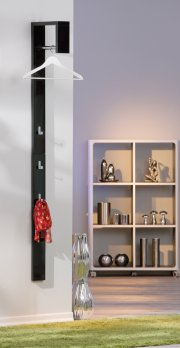 Coat rack »CASA« black