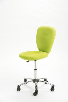 Swivel chair »PEZZI« green