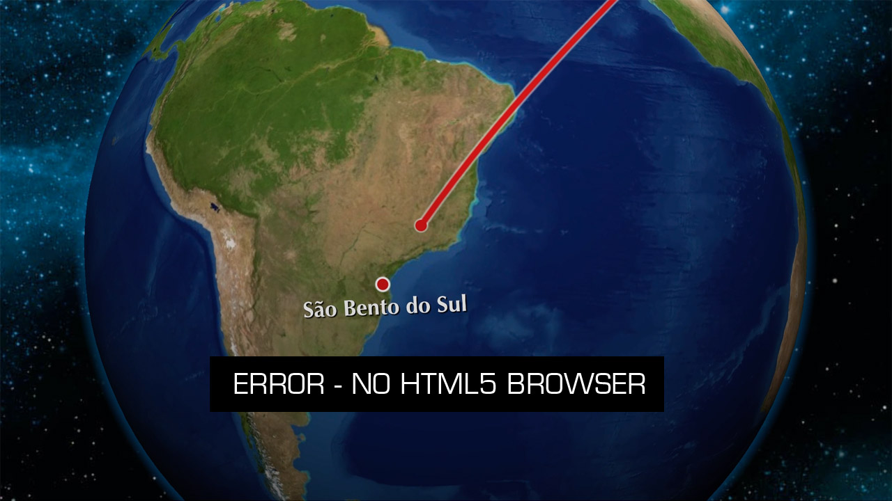 ERROR - NO HTML5 BROWSER